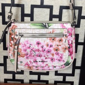 Dana Buchman floral crossbody bag